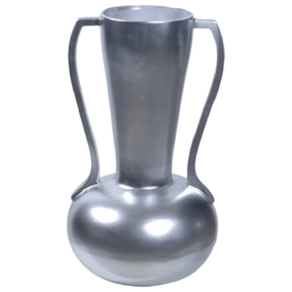 Shop Gold Eagle Aluminum Vase With Handles Free Shipping Today