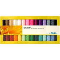 Metrosene Poly Sheen Solids Gift Set 28pc
