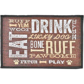 "Bella Fashion Mats 12.75""X19""-Dog Day Expressions"