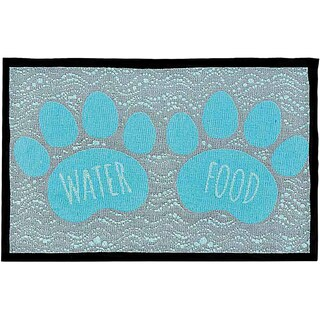 "Bella Fashion Mats 12.75""X19""-Food & Water"