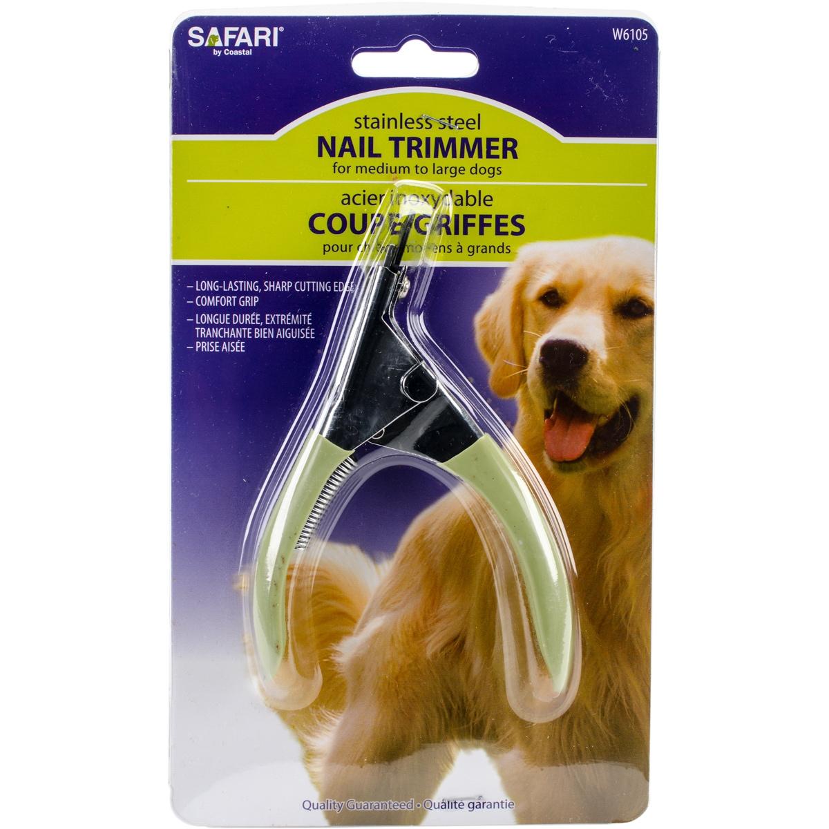 Coastal Pet Safari Guillotine Dog Nail Trimmer-Large (Pet...