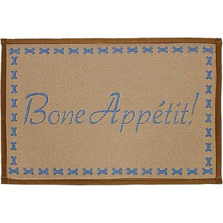 "Bella Fashion Mats 12.75""X19""-Bone Appetit"