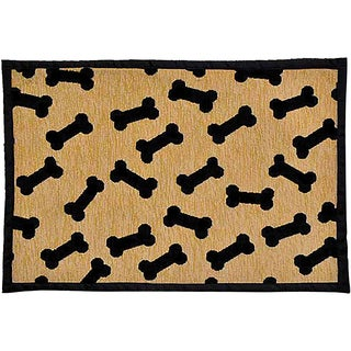 "Bella Fashion Mats 12.75""X19""-Dancing Bones"