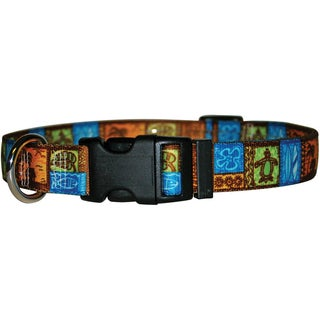 "Yellow Dog Collar Medium 14""-20""-Tiki"