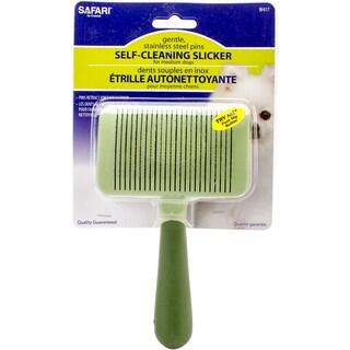 Safari Dog Self-Cleaning Slicker Brush-Medium