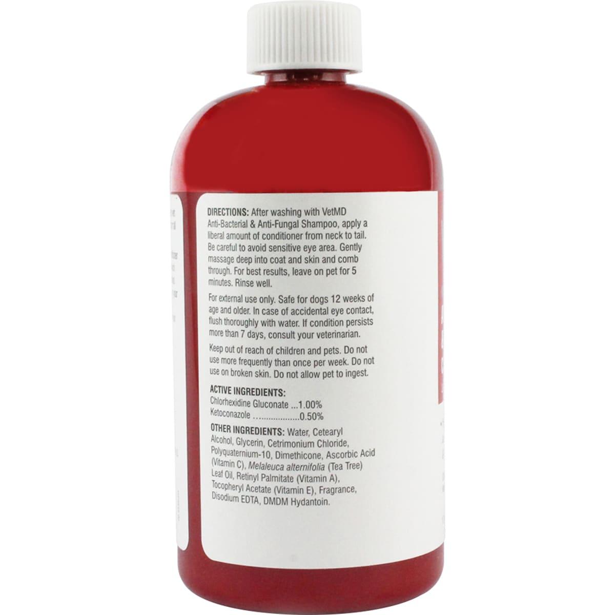 VetMD Medicated AntiBacterial/AntiFungal Conditioner 17fl...