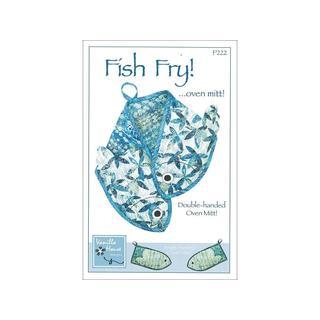 Vanilla House Fish Fry Oven Mitt Ptrn
