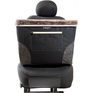 Bergan Comfort Sitting Dog Booster-Black - Medium