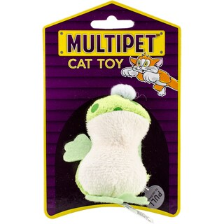 "Multipet Look Who's Talking Plush Toy 1.25""-Frog"