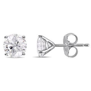 Miadora Signature Collection 14k White Gold 1 5/8ct TDW Diamond Martini-Style Stud Earrings|https://ak1.ostkcdn.com/images/products/15296746/P21764418.jpg?impolicy=medium