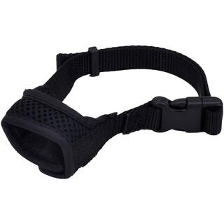 Best Fit Adjustable Comfort Dog Muzzle - Black