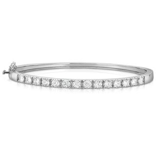 Noray Designs 14K White Gold 1.50 ct Diamond Bangle