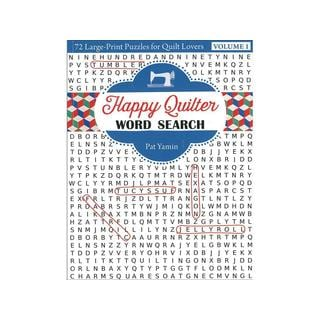 Kansas City Star Happy Quilter Word Search Bk