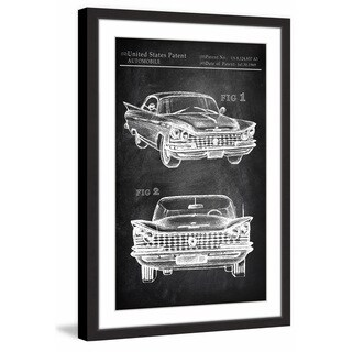 Vintage Cadillac' Framed Painting Print