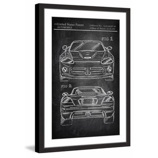 Muscle Car Design' Framed Painting Print