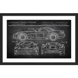Sports Car Design' Framed Painting Print
