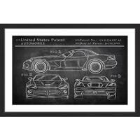 Sports Car Design' Framed Painting Print