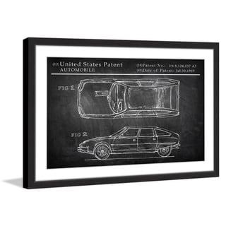 Concept Design' Framed Painting Print