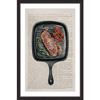 Sizzling' Framed Painting Print