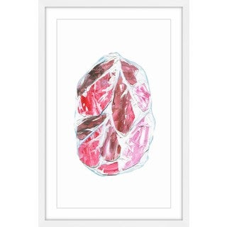Salami Cuts' Framed Painting Print