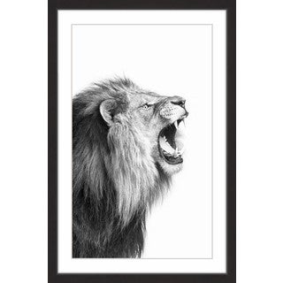 Man Is Right' Framed Painting Print