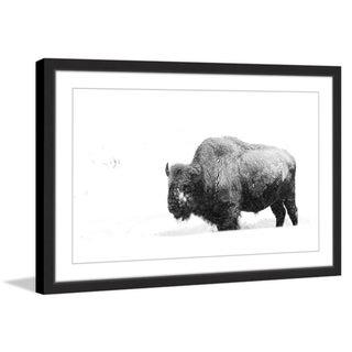 Winter Coat' Framed Painting Print