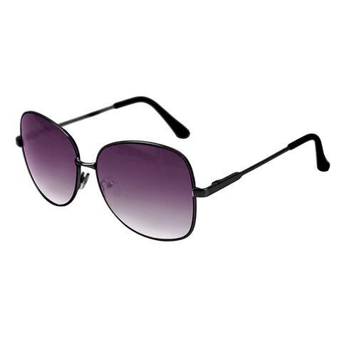 Pop Fashionwear Designed Woman Fashion Oversized Metal Sunglasses