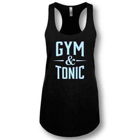 """Gym & Tonic"" Ladies' Racerback Tank Top"