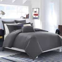 Nautica Seaward Charcoal Cotton Comforter Set