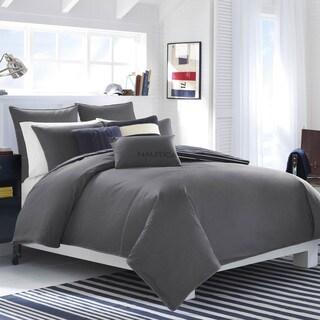 Nautica Seaward Charcoal Cotton Comforter Set (As Is Item)