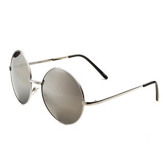POP Fashionwear Retro Vintage P2046 Unisex Round Metal Frame Oversized Lens Sunglasses (4 options available)