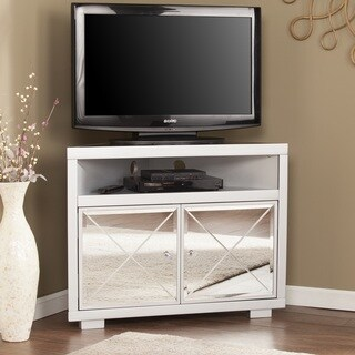 Harper Blvd Minna Mirrored Corner TV Stand