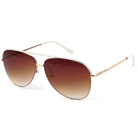 Pop Fashionwear Top Line Metal Aviator Sunglasses