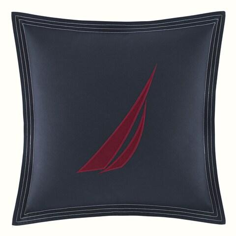 Nautica Seaward Navy Square Pillow