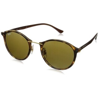 Ray-Ban RB4242 710/73 Unisex Tortoise/Brown Frame Brown Classic 49mm Lens Sunglasses
