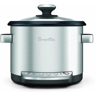 Breville BRC600XL Risotto Plus Sauteing Slow Rice Cooker and Steamer