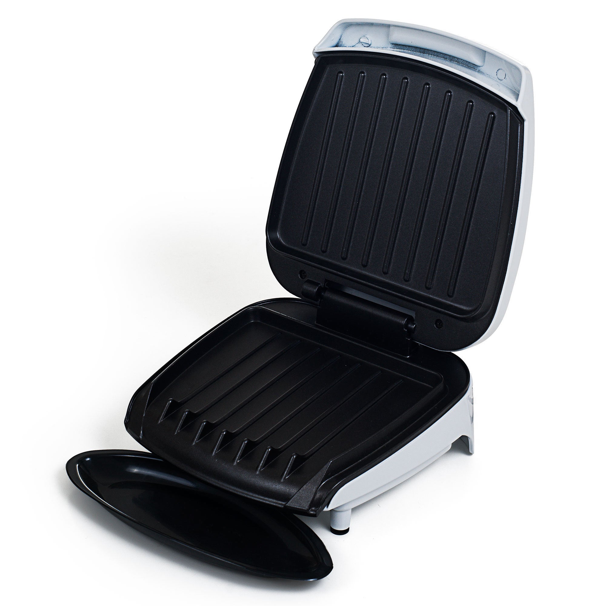 Electric Indoor Grill With Nonstick Plates for Low Fat He...