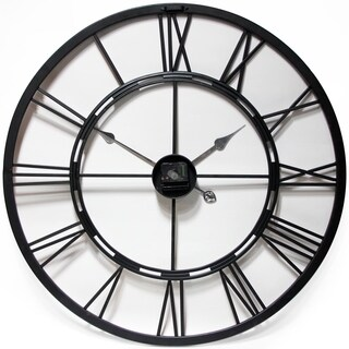 Infinity Instruments Black and Bronze Metal Fusion 28-inch Wall Clock|https://ak1.ostkcdn.com/images/products/15297245/P21764887.jpg?_ostk_perf_=percv&impolicy=medium