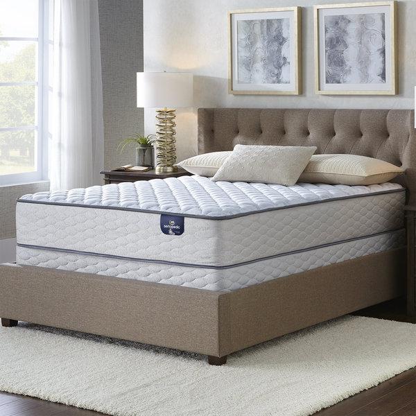 serta faircrest queen size mattress set free shipping today 21765247. Black Bedroom Furniture Sets. Home Design Ideas