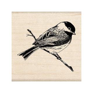 Inkadinkado Wood Stamp Chickadee