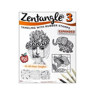 Design Originals Zentangle 3 Expanded Ed Bk