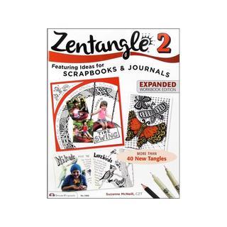 Design Originals Zentangle 2 Expanded Ed Bk