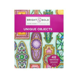 Darice B&B Unique Objects Coloring Bk