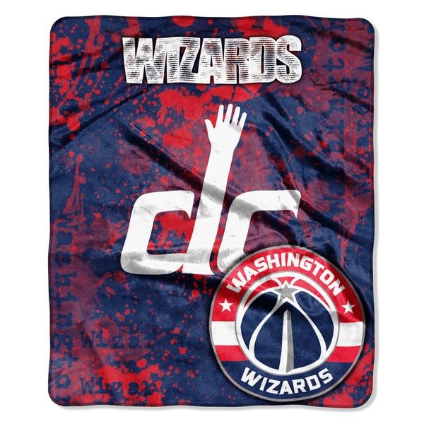 NBA 670 Wizards Dropdown Raschel Throw