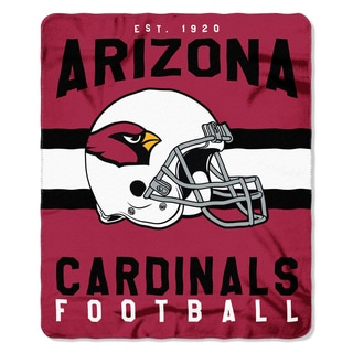NFL 031 Cardinals Singular Fleece Throw