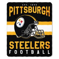 NFL 031 Steelers Singular Fleece Throw