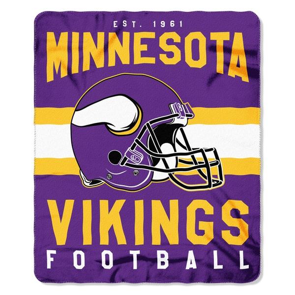 NFL 031 Vikings Singular Fleece Throw