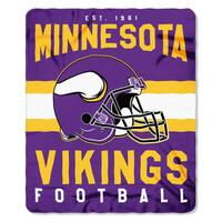 NFL 031 Vikings Singular Fleece Throw