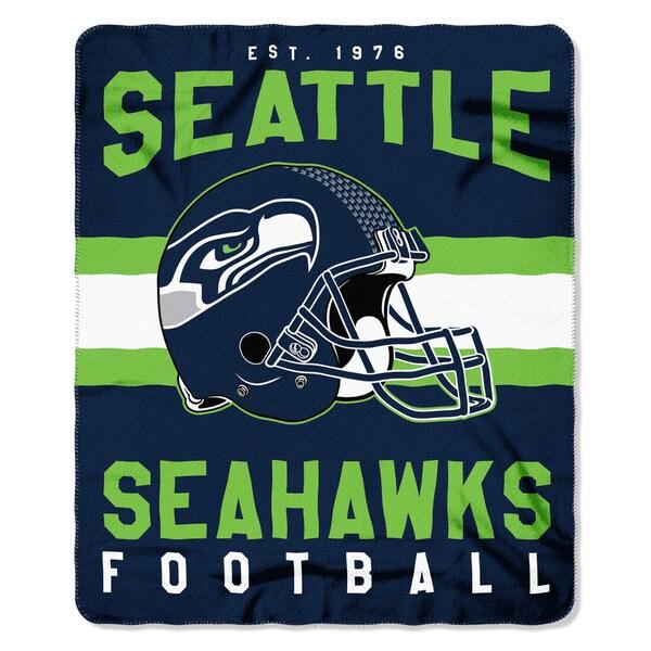 NFL 031 Seahawks Singular Fleece Throw