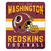 NFL 031 Redskins Singular Fleece Throw
